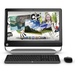 HP TouchSmart 520 1020 Desktop Computer   Black